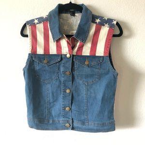 USA patriotic vest